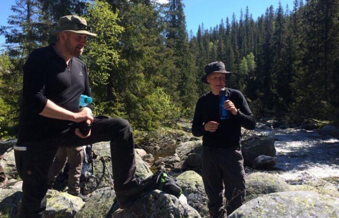 Fjeldkursus Vandring Norge Pause