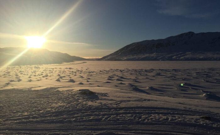 Grønland ACT Solnedgang
