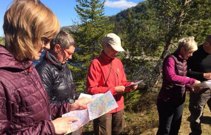Kort og kompas kursus i Norge - Find vej i Norge