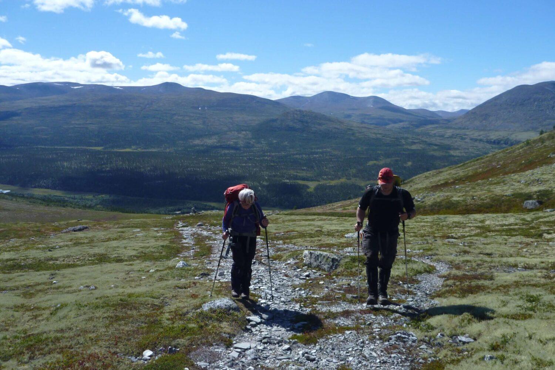 Udsigt over det Norske Fjeld Dagsvandring