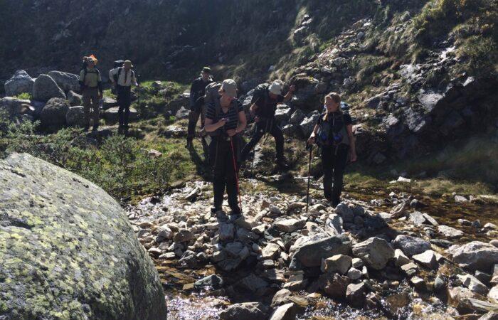 Vandring i gruppe i Norge - kursus