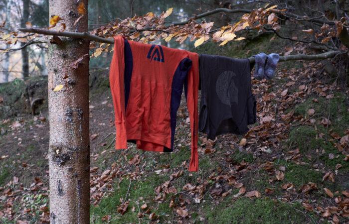 Tørring af tøj