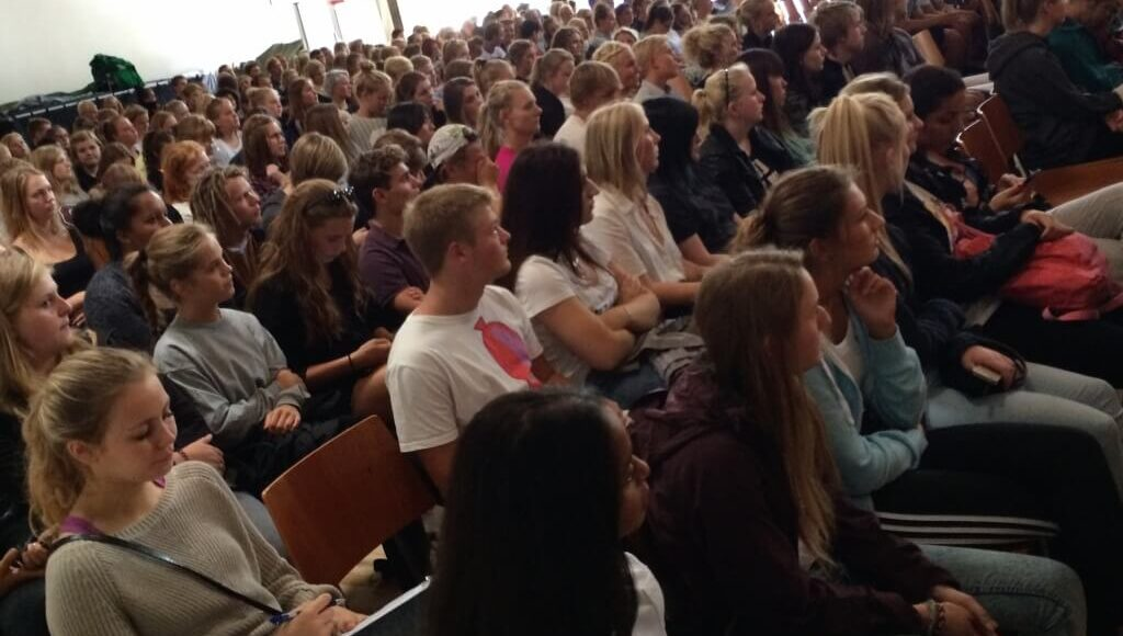Foredrag elever