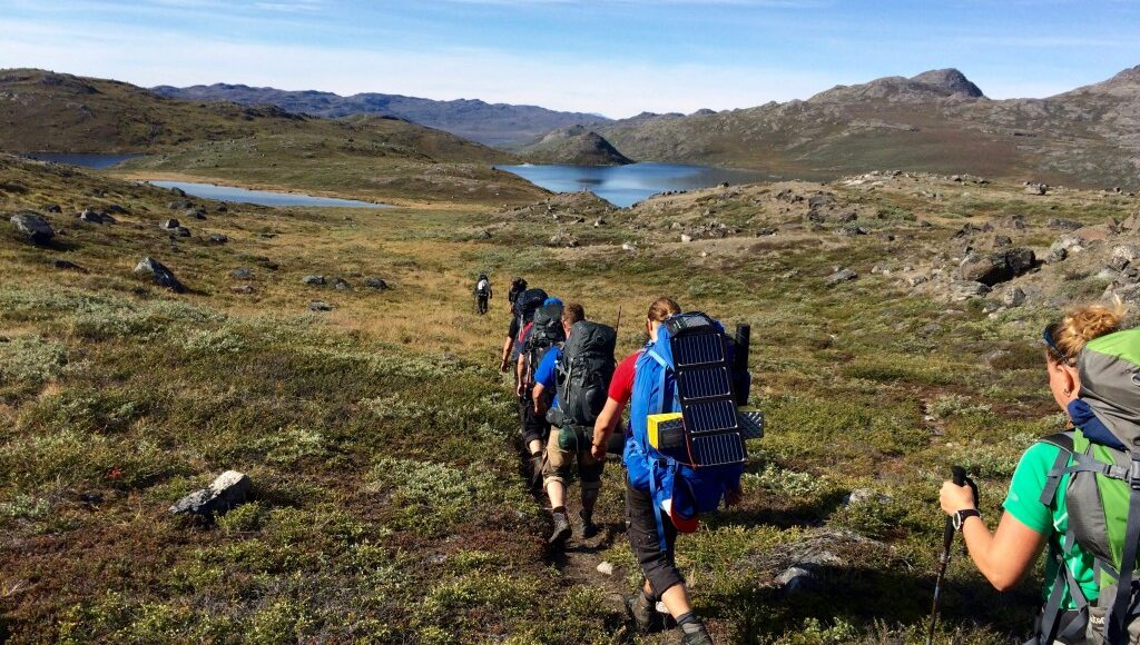 Hiking Grønland