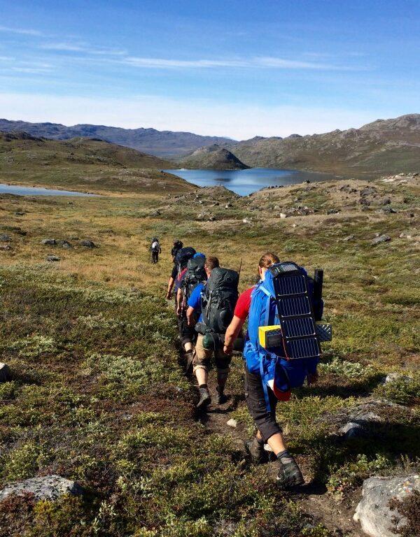 Hiking Grønland