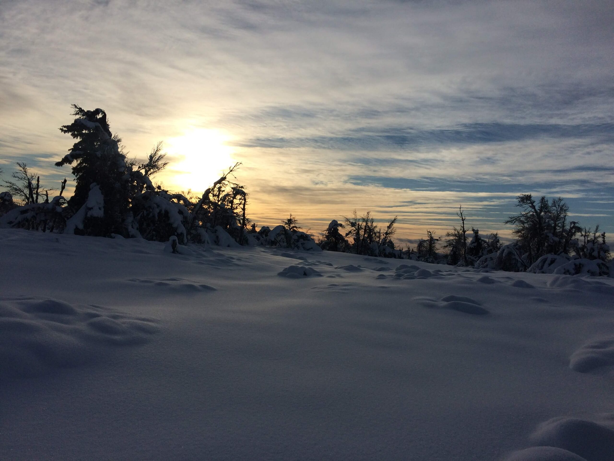 Solnedgang Fagerhøi