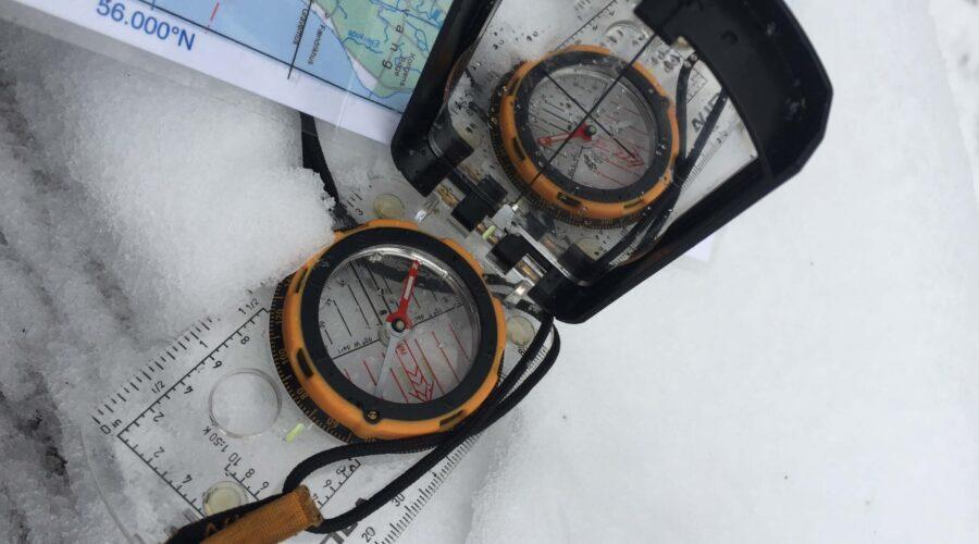 Orientering i sne