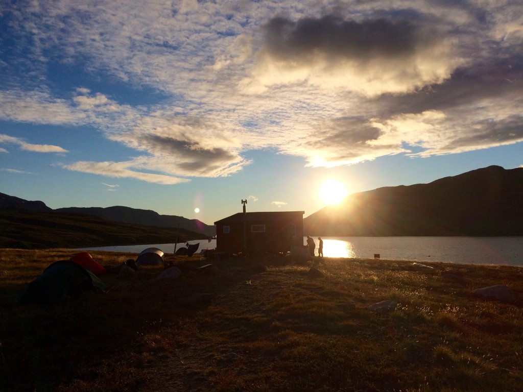 Solnedgang førstefjorden