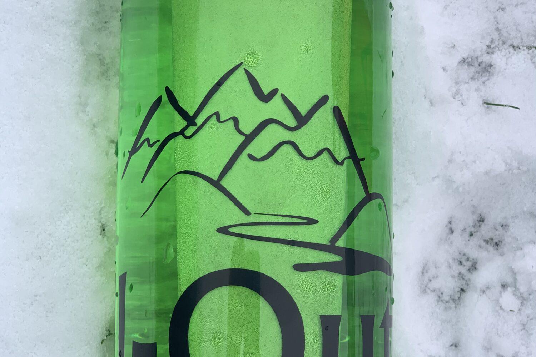 Drikkeflaske-grøn